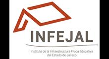 Logotipo del Instituto de Ia Infraestructura Física Educativa del Estado de Jalisco.