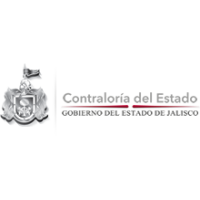 Logotipo del estado de Jalisco junto con la leyenda de la Contraloría del Estado.