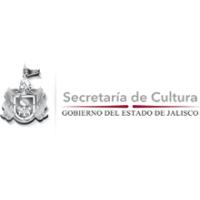 Logotipo del estado de Jalisco junto con la leyenda de la Secretaría de Cultura.