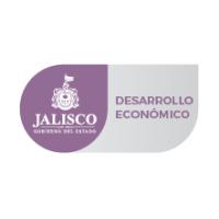 Logotipo del estado de Jalisco junto con la leyenda de la Secretaría de Desarrollo Económico.
