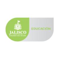 Logotipo del estado de Jalisco junto con la leyenda de la Secretaría de Educación.