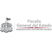 Logotipo del estado de Jalisco junto con la leyenda de la Fiscalía General del Estado.
