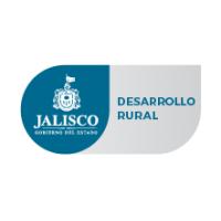 Logotipo del estado de Jalisco junto con la leyenda de la Secretaría de Desarrollo Rural.