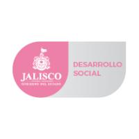 Logotipo del estado de Jalisco junto con la leyenda de la Secretaría de Desarrollo e Integración Social.